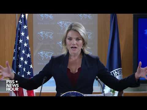 WATCH LIVE: State Dept. Spokesperson Heather Nauert holds news briefing