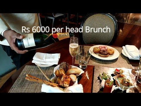 Sunday Brunch at JW Marriot , New Delhi