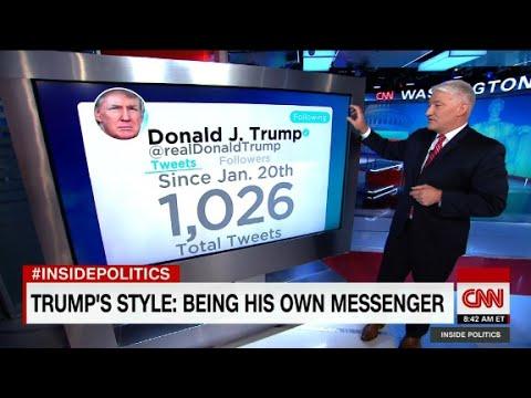 Trump as tweeter-in-chief
