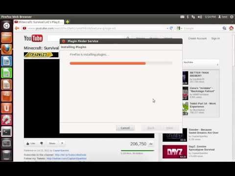 Ubuntu 12.04 - How to Install Adobe Flash Player