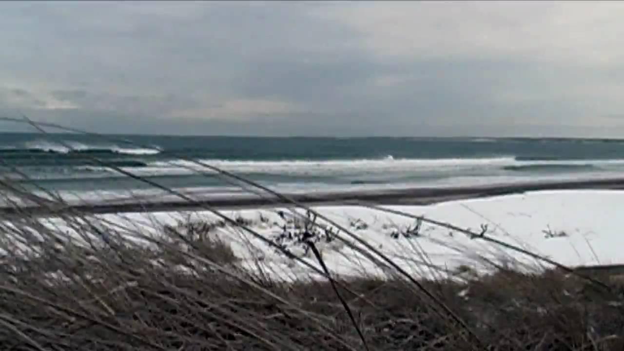 Relaxing Nature Scenes - Scenic Video Winter Ocean - YouTube