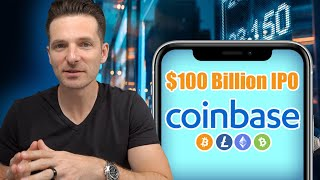 COINBASE $100 BILLION IPO | Cryptocurrency Becomes Official On The Nasdaq Stock Market Exchange