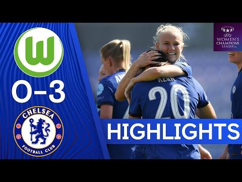 VfL Wolfsburg 0-3 Chelsea   The Blues Cruise Into Champions League Last Four   UEFA Champions League