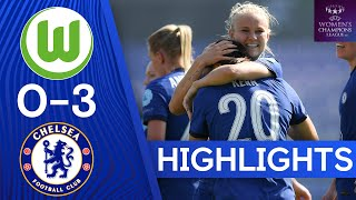 VfL Wolfsburg 0-3 Chelsea | The Blues Cruise Into Champions League Last Four | UEFA Champions League