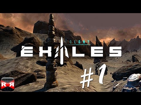Exiles (By Crescent Moon Games) - iOS / Android - Walkthrough Gameplay Part 1