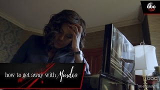 Annalise Texts A Mysterious Person - How To Get Away With Murder