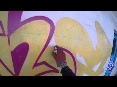 Graffiti - Ghost EA - Raw Footage 4