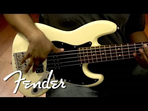Fender Modern Player Jazz Bass V Demo