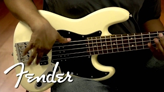 Fender Modern Player Jazz Bass V Demo | Fender