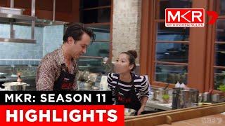 Sophia & Romel's Kitchen Meltdown | MKR: Season 11
