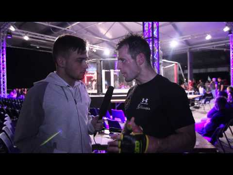 Post-Fight Interview with Micky Doyle after Cage Contender 18