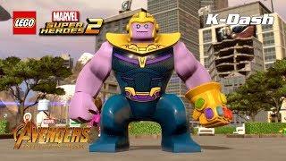 타노스 캐릭터 소개 - 레고 마블 슈퍼 히어로즈 2 LEGO® Marvel Super Heroes 2 Thanos Free Roam