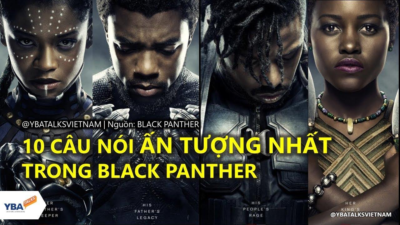 Những câu nói ấn tượng trong phim Báo Đen | Black Panther