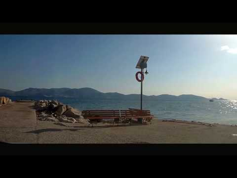 Hydra Greece | Travel By Car Athens to Metochi | The shortest Route-timelapse