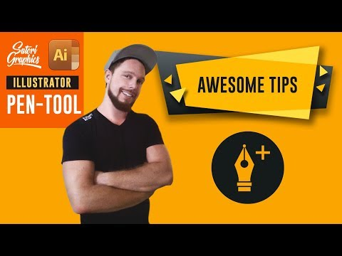 Illustrator Pen Tool Techniques (AWESOME TIPS) | Satori Graphics