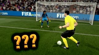 CAN THE REFEREE SCORE ON FIFA 17!? (Best Glitch Ever)