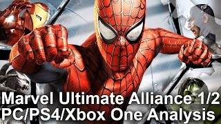 Marvel Ultimate Alliance 1/2: PS4 vs Xbox One vs PC Frame-Rate Test + Analysis