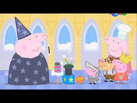 Мультик Свинка Пеппа 3 сезон 14 серия - Принцесса Пеппа.