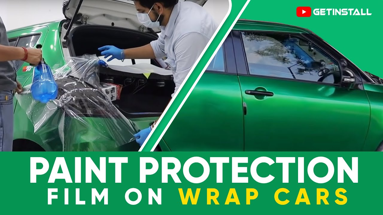 INSTALL PPF ON WRAPPED SWIFT🔥  PAINT PROTECTION FILM ON MODIFIED SWIFT ! 😱