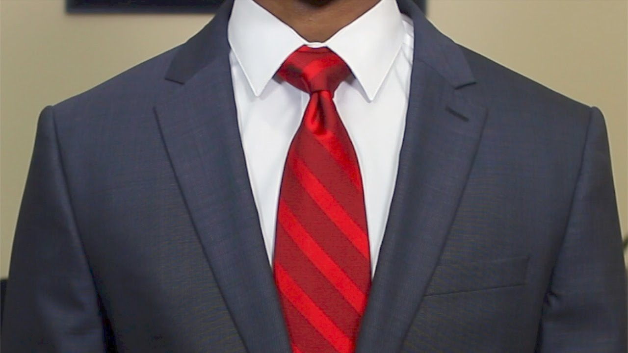 How to tie a neck tie the classic half windsor youtube how to tie a neck tie the classic half windsor ccuart Image collections