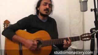 Aakasha Gopuram (Johnson) | Just another Vocal Guitar Chord Improvisation