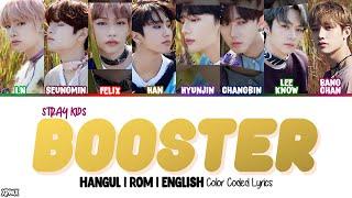 Download Lagu Stray Kids (스트레이 키즈) - Booster Color Coded [Han|Rom|Eng] Lyrics mp3