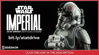 Star Wars Sideshow Collectibles Imperial AT-AT Driver 1/6 Scale Movie Collectible Figure Review