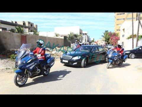 Gambie : le président adama Barrow quitte Dakar pour Banjul