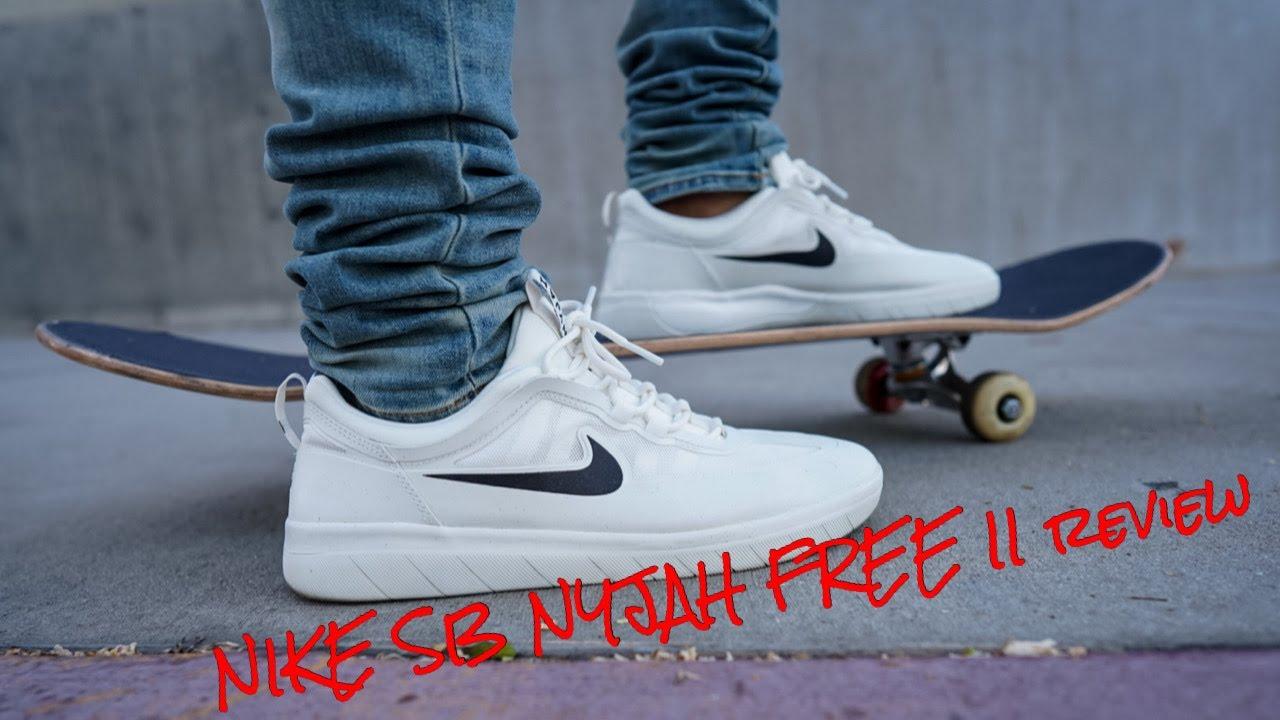 Size With Nike SB NYJAH FREE