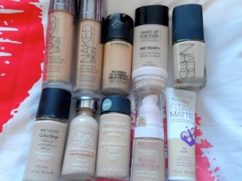 TOP 10 ULTIMATE FOUNDATIONS DRUGSTORE Amp HIGHEND 2013