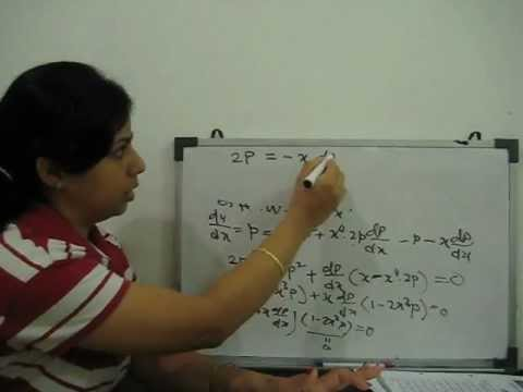 first order higher degree differential equation - part 1