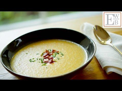Beth's Potato, Cheddar Bacon Soup Recipe   ENTERTAINING WITH BETH