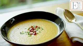 Beth's Potato, Cheddar Bacon Soup Recipe | ENTERTAINING WITH BETH