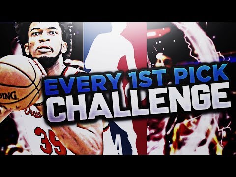 SO MANY TRADES!! EVERY FIRST ROUND PICK CHALLENGE! NBA 2K18