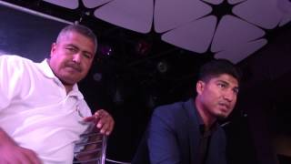 Will Mikey Garcia & Robert Garcia support Mayweather McGregor??