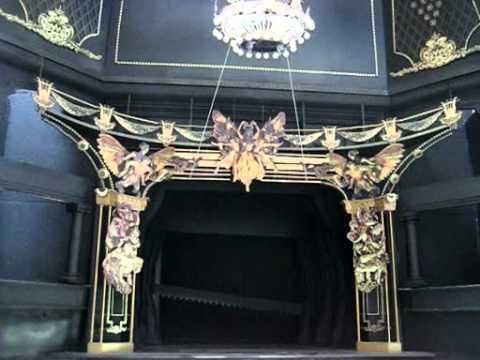 Phantom Of The Opera Chandelier Model Amp Angel Drop Youtube