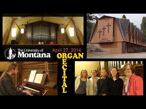 University of Montana Organ Studio Recital