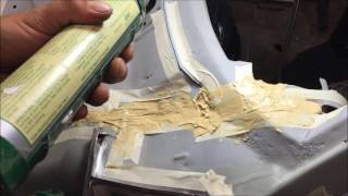 how to seam seal a car or truck DIY chevelle a body GM