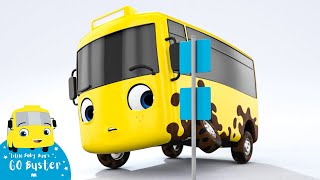 Go Buster - Buster and The Carwash | BRAND NEW SERIES | Kids Cartoon | Little Baby Bum