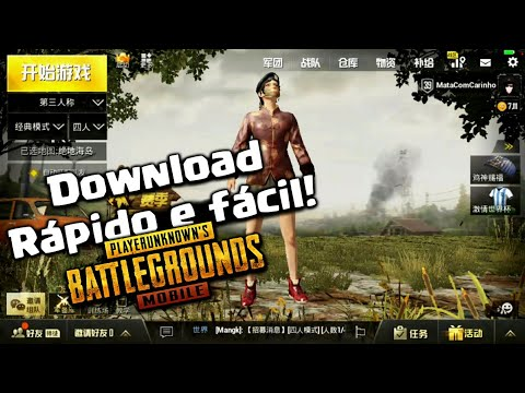 Como baixar PUBG MOBILE CHINÊS [ LIGHT SPEED E TIMI ] SEM ERRO DE DOWNLOAD