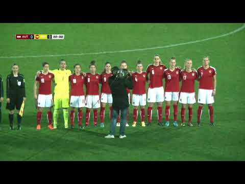 Cyprus Women's Cup | AUSTRIA vs SPAIN - 28/02/18 - VOD HD