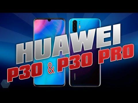 Huawei P30 & P30 PRO Дизайн и характеристики