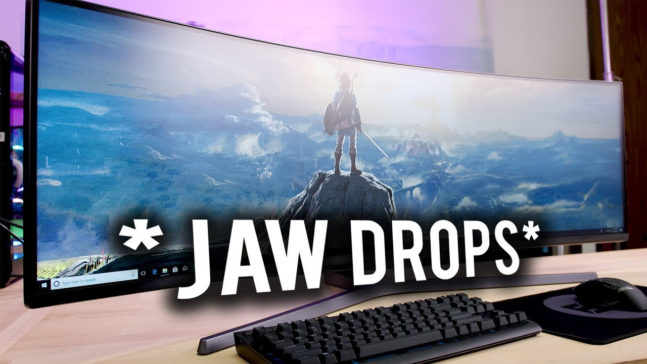 Should you game on a SUPER ULTRAWIDE DISPLAY?