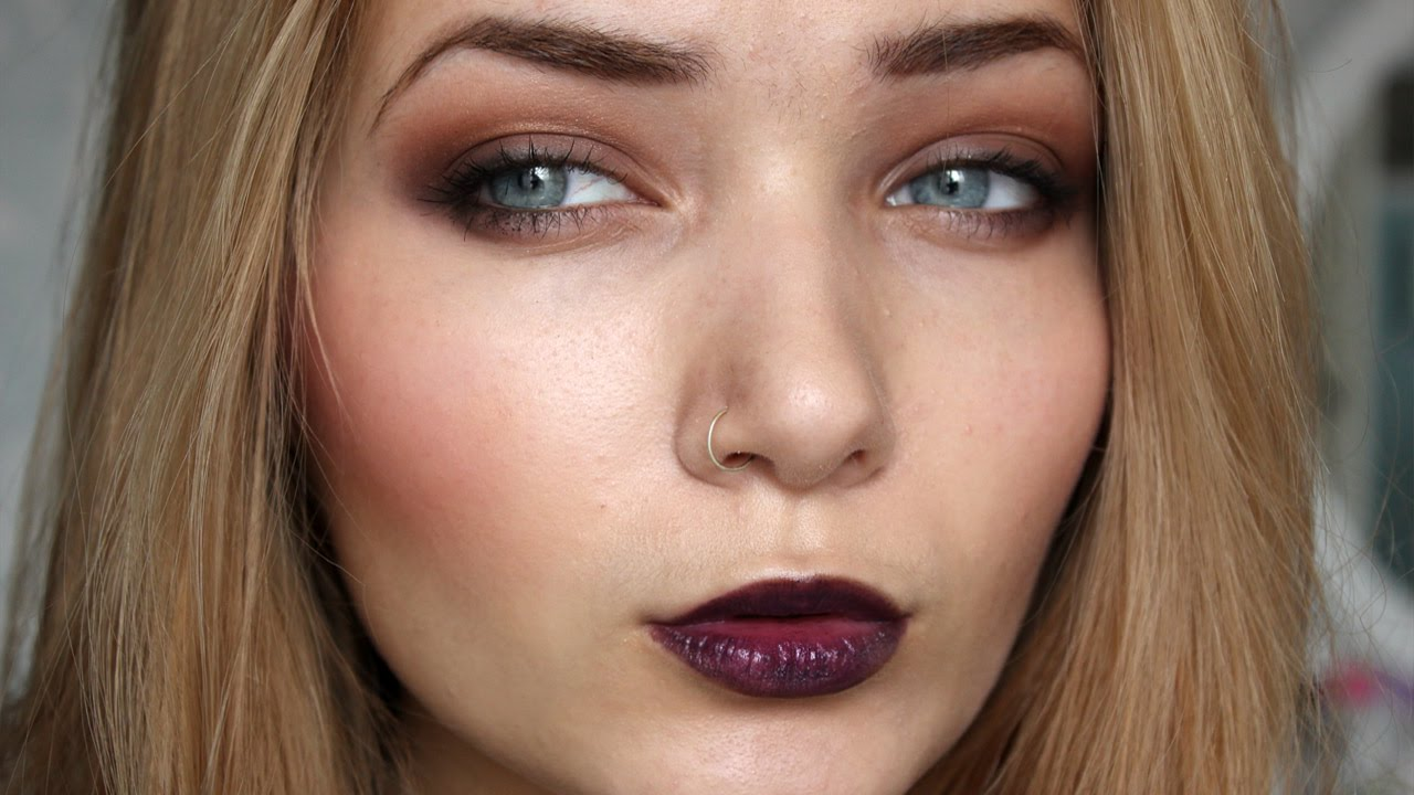 Fall Autumn Grunge Makeup Tutorial Youtube