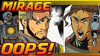 Mirage Messed up Big Time! part 7 : Apex Legends Season 6 Quest Finale