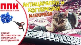 АНТИЦАРАПКИ и КОГТЕРЕЗКИ с Алиэкспресс Подрезаем-Клеим