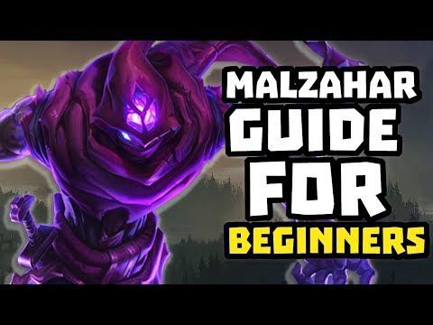 Malzahar Guide for BEGINNERS (League of Legends)