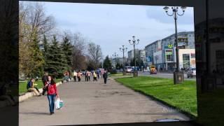 Весенний город Лисичанск