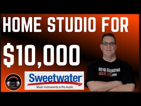 Home Studio Build For $10,000