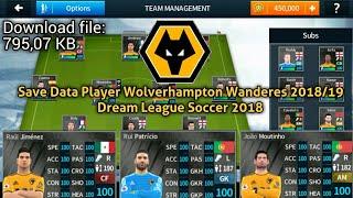 Save data dls 18 player wolverhampton wanderes 2018/19 link sd: google drive: https://drive.google.com/file/d/1etwjh8ybve-iaj55jmn2kw2rxapicrnx/view?usp=driv...